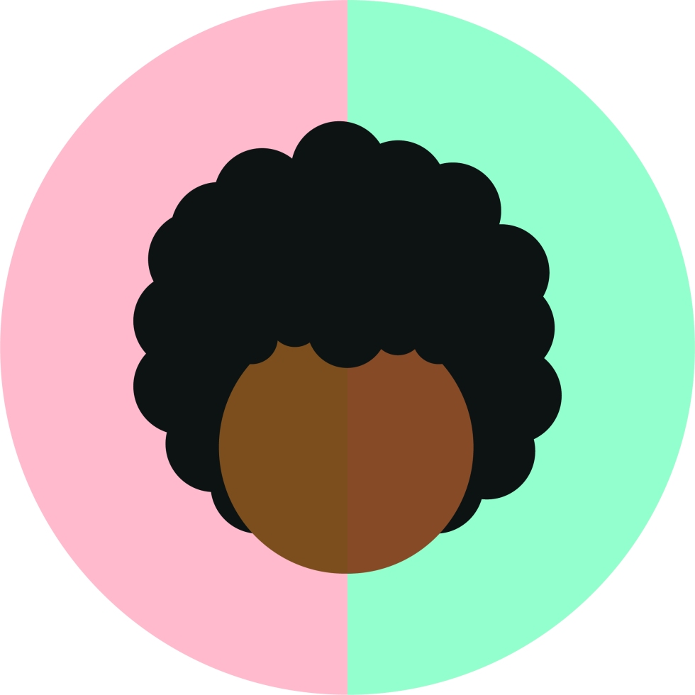 Afro-Vector-Illustration-Adobe-Illustrator-Peach-Pastel-Colour