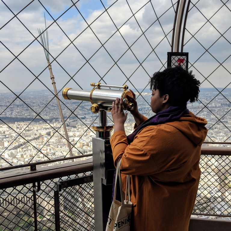 eiffel-tower-black-british-blogger-weekend-away-paris-tourist-guide